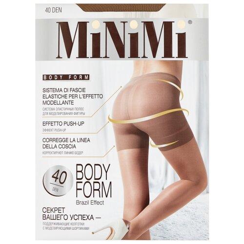 Колготки MiNiMi Body Form 40 den, размер 4-L, daino (бежевый) колготки minimi elegante 40 den размер 4 l daino бежевый