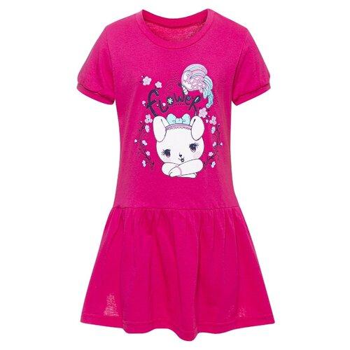 Платье M&D размер 104, малиновый платье мамуляндия размер 104 малиновый