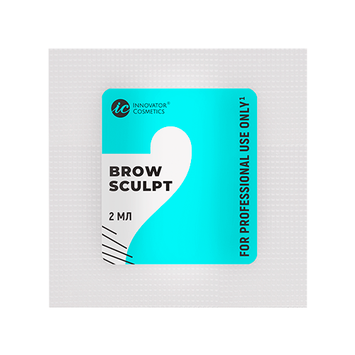 Innovator Cosmetics Состав #2 для долговременной укладки бровей Brow Sculpt (саше) innovator cosmetics состав 1 для долговременной укладки бровей brow lift