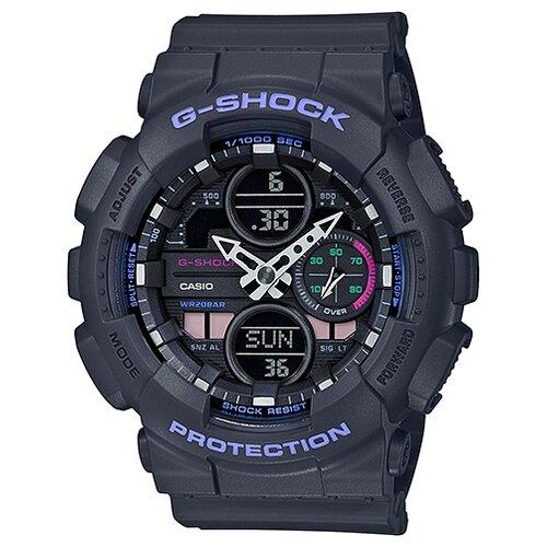 цена Наручные часы CASIO GMA-S140-8A онлайн в 2017 году