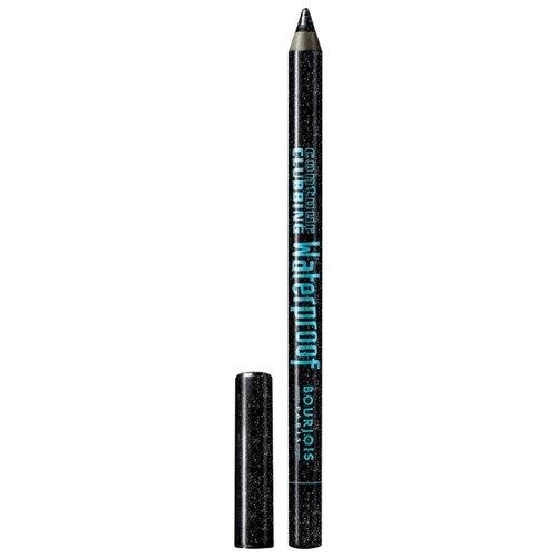 Bourjois Водостойкий карандаш для глаз Contour Clubbing Waterproof, оттенок 48 Atomic Black