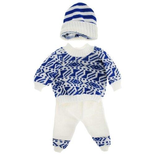 цена Junfa toys Комплект одежды для кукол BLC11 белый/синий онлайн в 2017 году