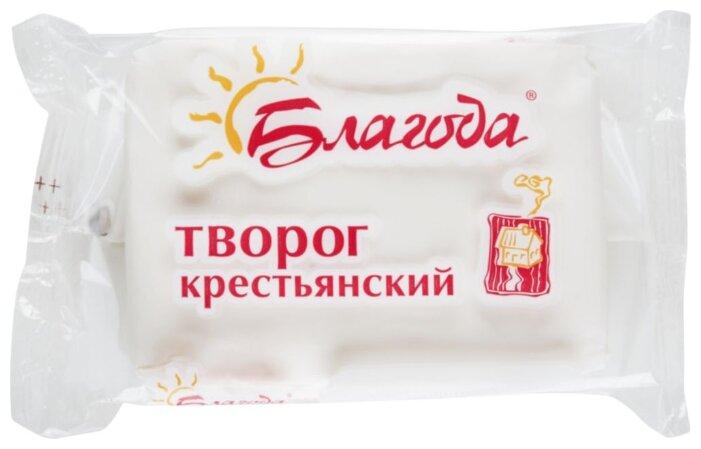 Творог Благода Крестьянский 12%, 180г