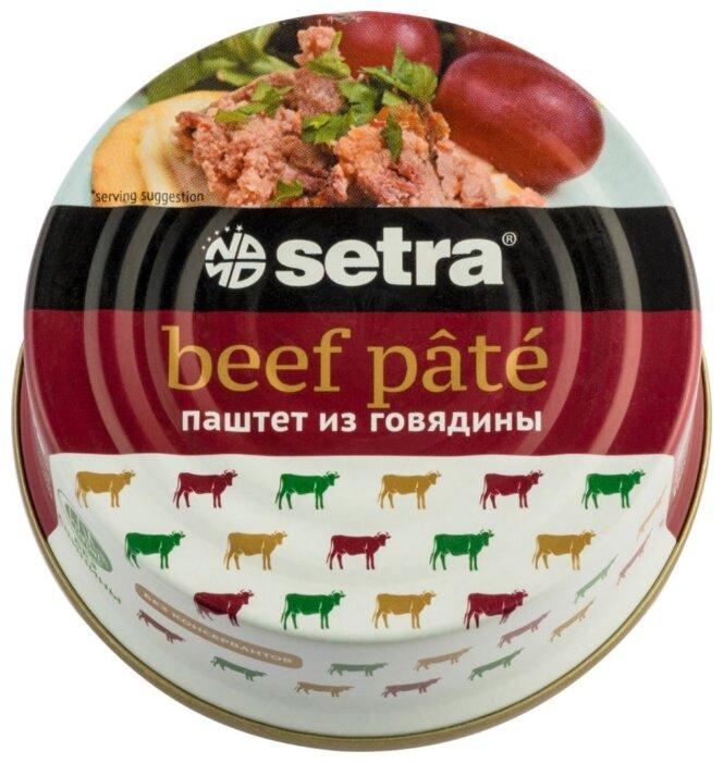 Setra Паштет из говядины 100 г