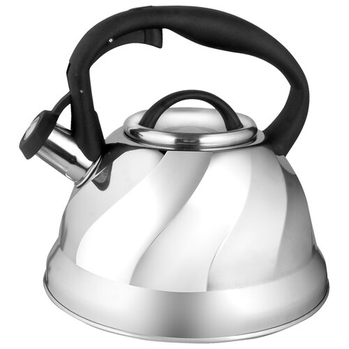 Webber Чайник со свистком BE-0525 3 л стальной