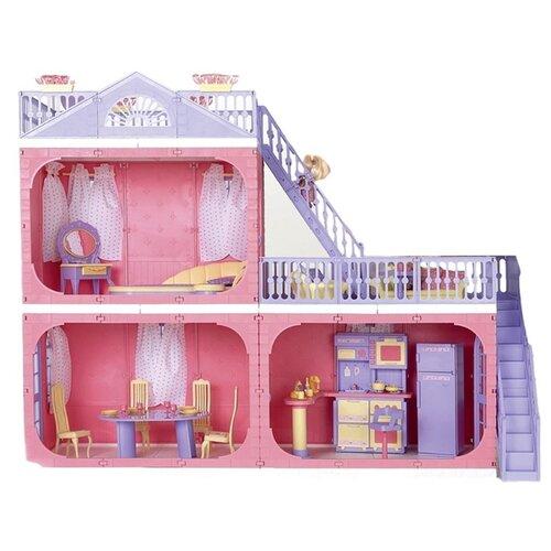 Фото - ОГОНЁК Коттедж Маленькая принцесса С-1457, розовый/фиолетовый огонек коттедж маленькая принцесса