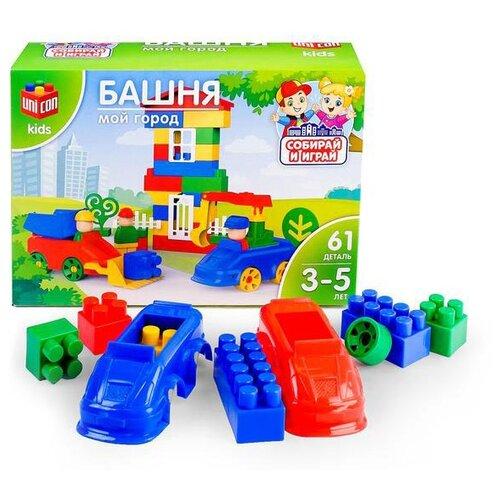 Купить Конструктор UNICON Мой город 3136203 Башня, Конструкторы