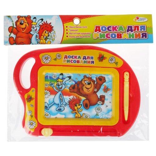 Купить Доска для рисования детская Играем вместе Трям Здравствуйте (B1727540-R2) желтый/красный, Доски и мольберты