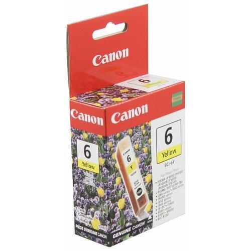 Картридж Canon BCI-6Y (4708A002) чернильница can bci 6y