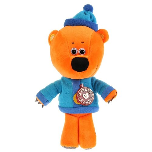 Купить Мягкая игрушка Мульти-Пульти Ми-ми-мишки Медвежонок Кеша в зимней одежде 22 см, муз. чип, Мягкие игрушки