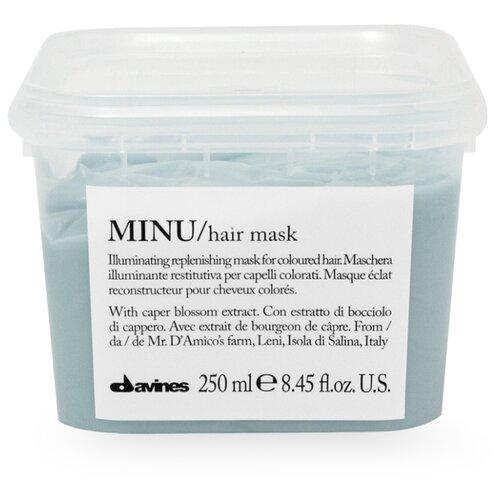 Davines Essential Haircare Minu Восстанавливающая маска для окрашенных волос, 250 мл