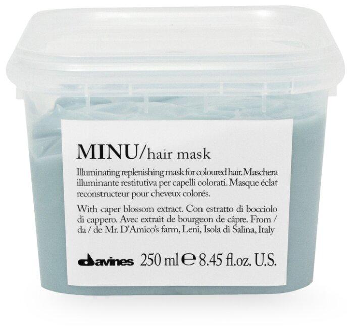 Davines Essential Haircare Minu Восстанавливающая маска для окрашенных волос
