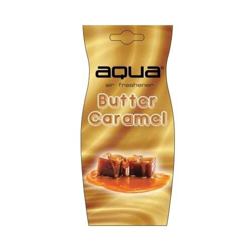 цена на Aqua Ароматизатор для автомобиля Natural Flavor Drop Butter Caramel 12 г