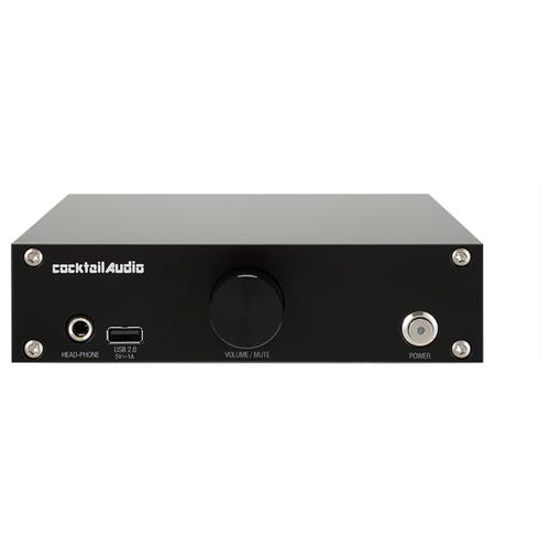 Сетевой аудиоплеер CocktailAudio N15D, черный