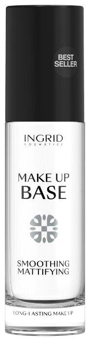 Ingrid Cosmetics база под макияж разглаживающая и матирующая Makeup Base Smoothing Mattifying 30 мл бесцветная