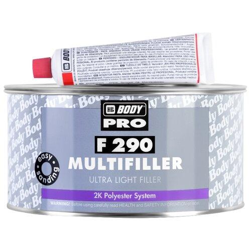 Комплект (шпатлевка, отвердитель) HB BODY PRO F290 Multifiller 200 мл