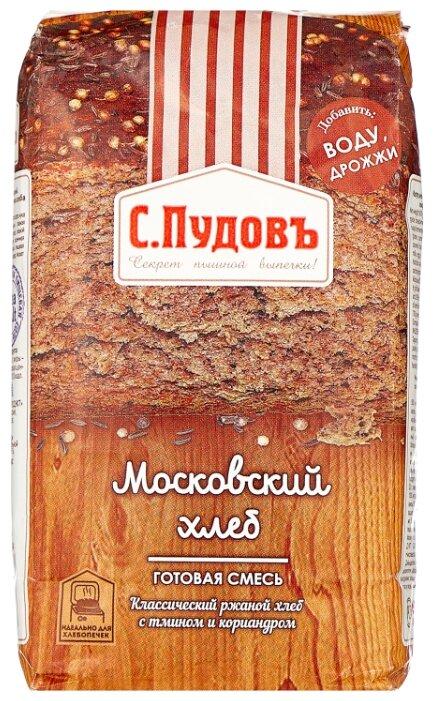 С.Пудовъ Смесь для выпечки хлеба Московский хлеб, 0.5 кг