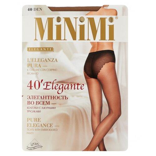 Колготки MiNiMi Elegante 40 den, размер 4-L, daino (бежевый) колготки minimi body form 40 den размер 4 l daino бежевый