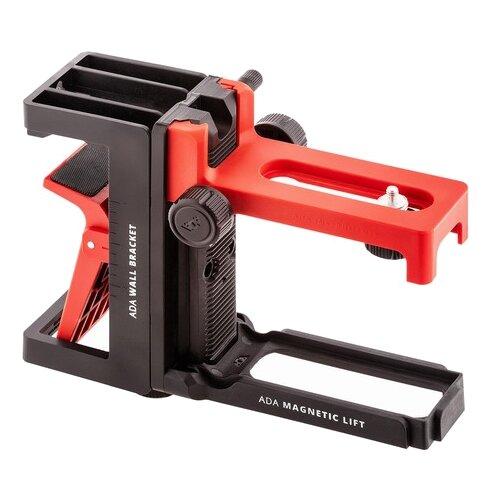 Держатель ADA instruments Magnetic lift + Wall bracket черный/красный