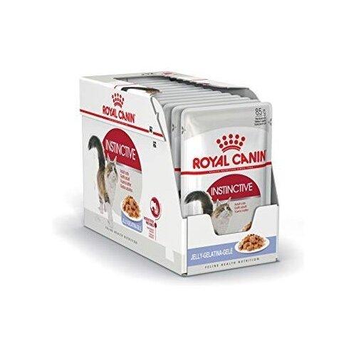 Корм для кошек Royal Canin Instinctive для профилактики МКБ 12шт. х 85 г (кусочки в желе) консервы для котят аппетитные кусочки в желе royal canin kitten instinctive 85 г