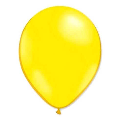 Набор воздушных шаров MILAND Пастель 13 см (100 шт.) желтый