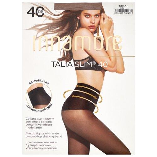 Колготки Innamore Talia Slim 40 den, размер 3-M, daino (коричневый) колготки innamore ottima 20 den размер 4 l daino коричневый