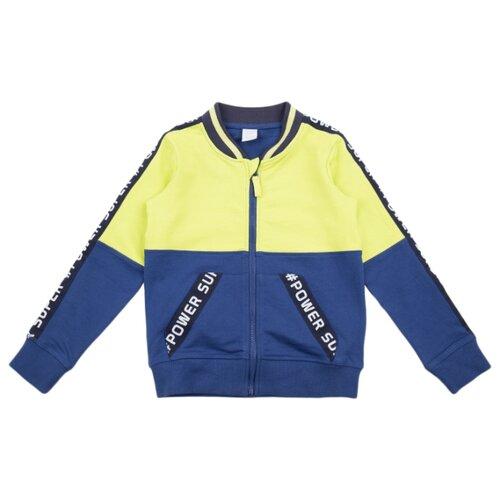 Купить Олимпийка Leader Kids размер 98, синий/желтый, Толстовки