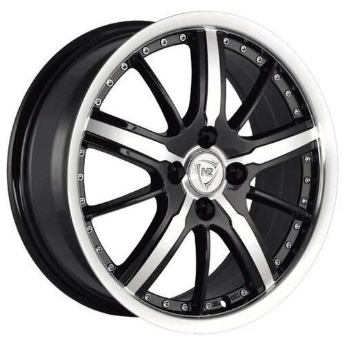 Фото - Колесный диск NZ Wheels SH663 7x17/5x112 D66.6 ET43 BKFPL колесный диск nz wheels sh669 7x17 5x112 d57 1 et43 silver