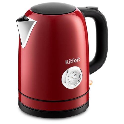 Чайник Kitfort КТ-683-2, красный