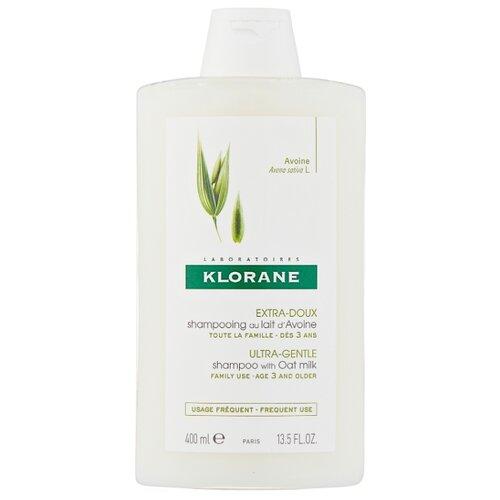 Klorane шампунь Ultra-Gentle, Protecting with Oat Milk 400 мл детский шампунь klorane