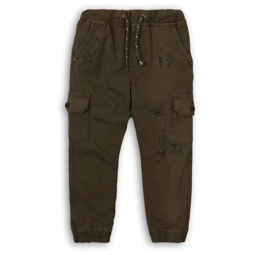 Брюки Minoti размер 6-7л, темно-зеленый брюки minoti размер 6 7л темно зеленый