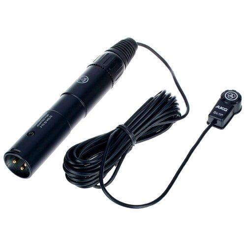 Микрофон AKG C411PP черный микрофон akg c411pp черный