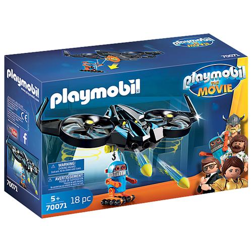 Купить Конструктор Playmobil The Movie 70071 Роботирон с дроном, Конструкторы