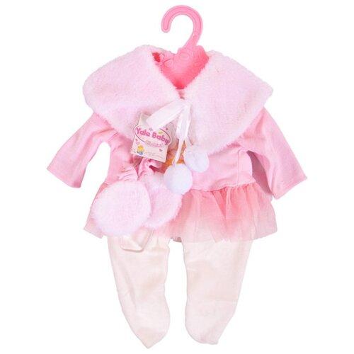 цена Junfa toys Комплект одежды для кукол BLC07 розовый онлайн в 2017 году