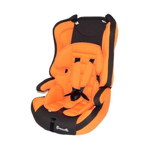 Автокресло группа 1/2/3 (9-36 кг) Carmella 513 RF, orange/grey группа 1 2 3 от 9 до 36 кг carmella 513 rf и protectionbaby защитная накидка на спинку переднего сиденья автомобиля