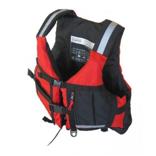 Спасательный жилет Вольный ветер Каскад XL красный/черный