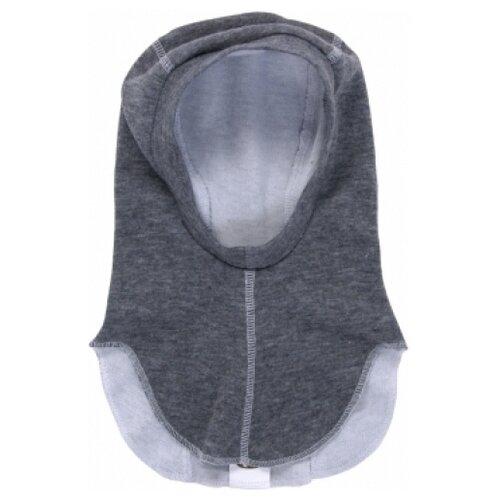 Купить Шапка-шлем Наша мама размер 48-50(92), антрацит, Головные уборы