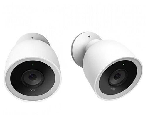 Комплект видеонаблюдения Nest Cam IQ Outdoor 2 Camera Set 2 камеры