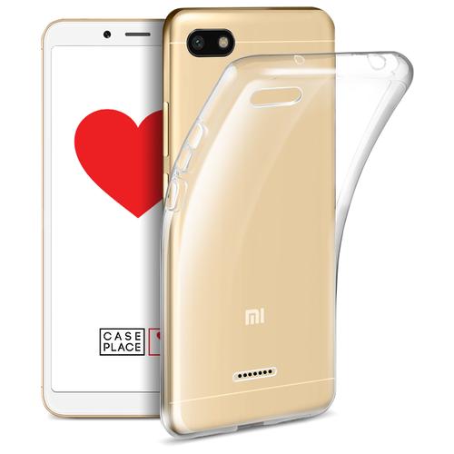 Купить Чехол Case Place 34150 для Xiaomi Redmi 6A прозрачный