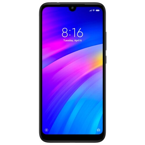 Смартфон Xiaomi Redmi 7 2/16GB черный смартфон