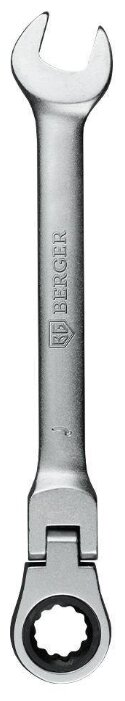 BERGER ключ комбинированный с трещоткой BG1241