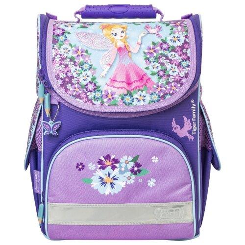 TIGER FAMILY ранец Nature Quest Blissful Fairy (TGNQ-006A), фиолетовый