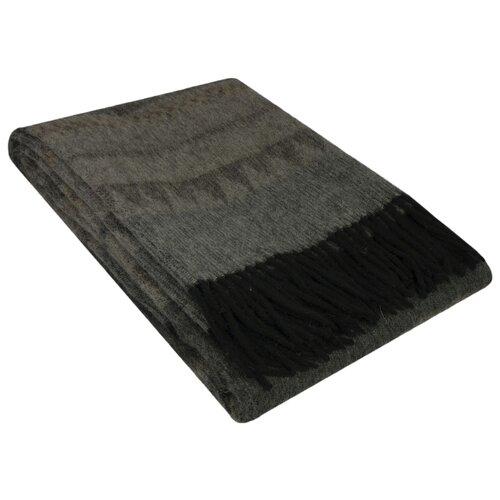Плед Incalpaca Вайле,150х200 см серый/синий плед incalpaca pba 07 170х210 см