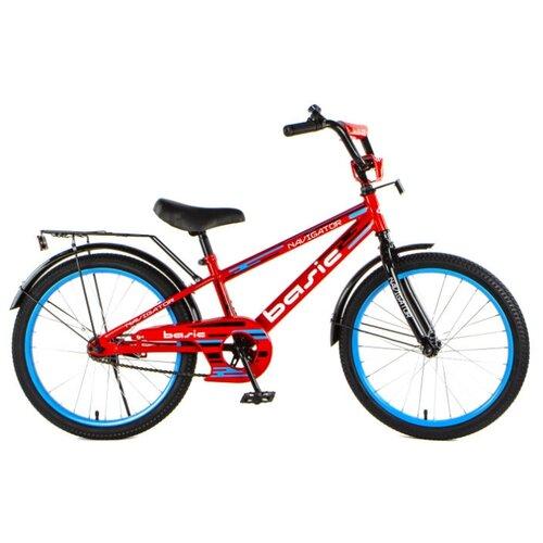 Детский велосипед Navigator Basic (ВН20219) красный (требует финальной сборки) велосипед детский navigator вн20214 basic