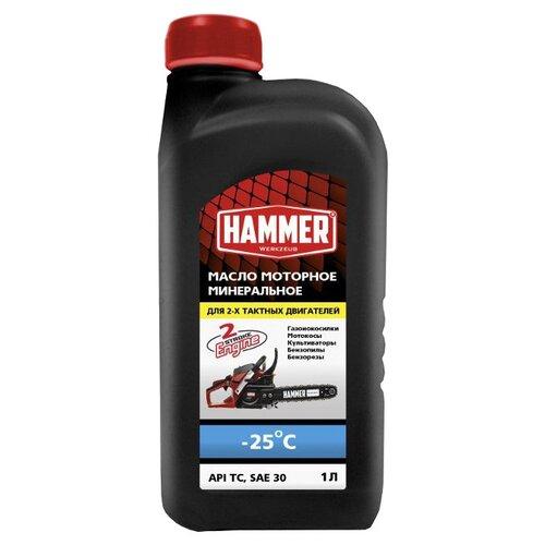 Масло для садовой техники Hammerflex 502-001 1 л