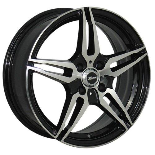 цена Колесный диск X-Race AF-10 6.5x16/5x114.3 D60.1 ET40 BKF онлайн в 2017 году