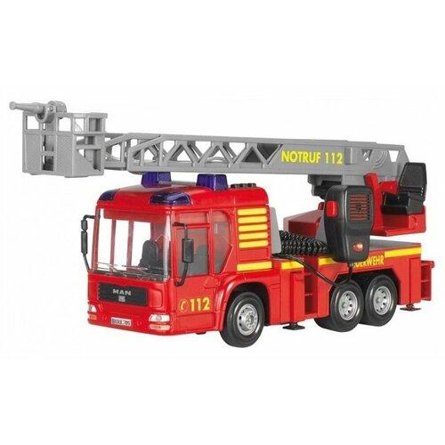 Пожарный автомобиль Dickie Toys MAN (3716003) 43 см красный цена 2017