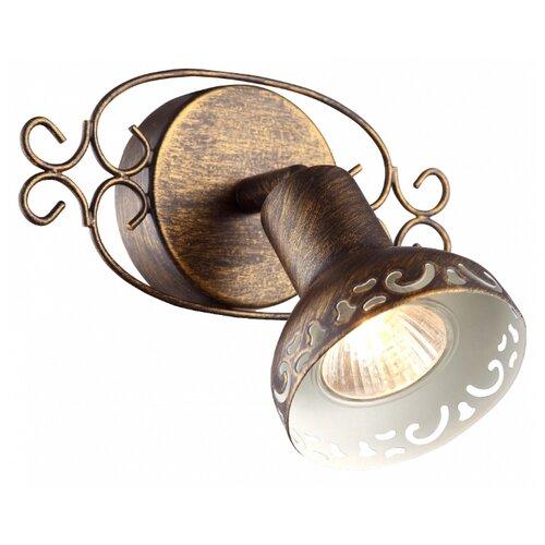 Настенный светильник Arte Lamp Focus A5219AP-1BR, 35 Вт настенный светильник arte lamp bevel a9330ap 1br 60 вт