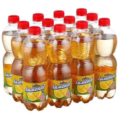 Газированный напиток Fruktomania Лимонад, 0.5 л, 12 шт. мингаз лимонад напиток 0 5 л