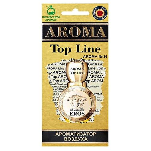 AROMA TOP LINE Ароматизатор для автомобиля Aroma № 34 Versace Eros Woman 14 г